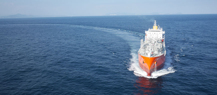 QHSE system in use on UltraShip vessel sailing on blue waters
