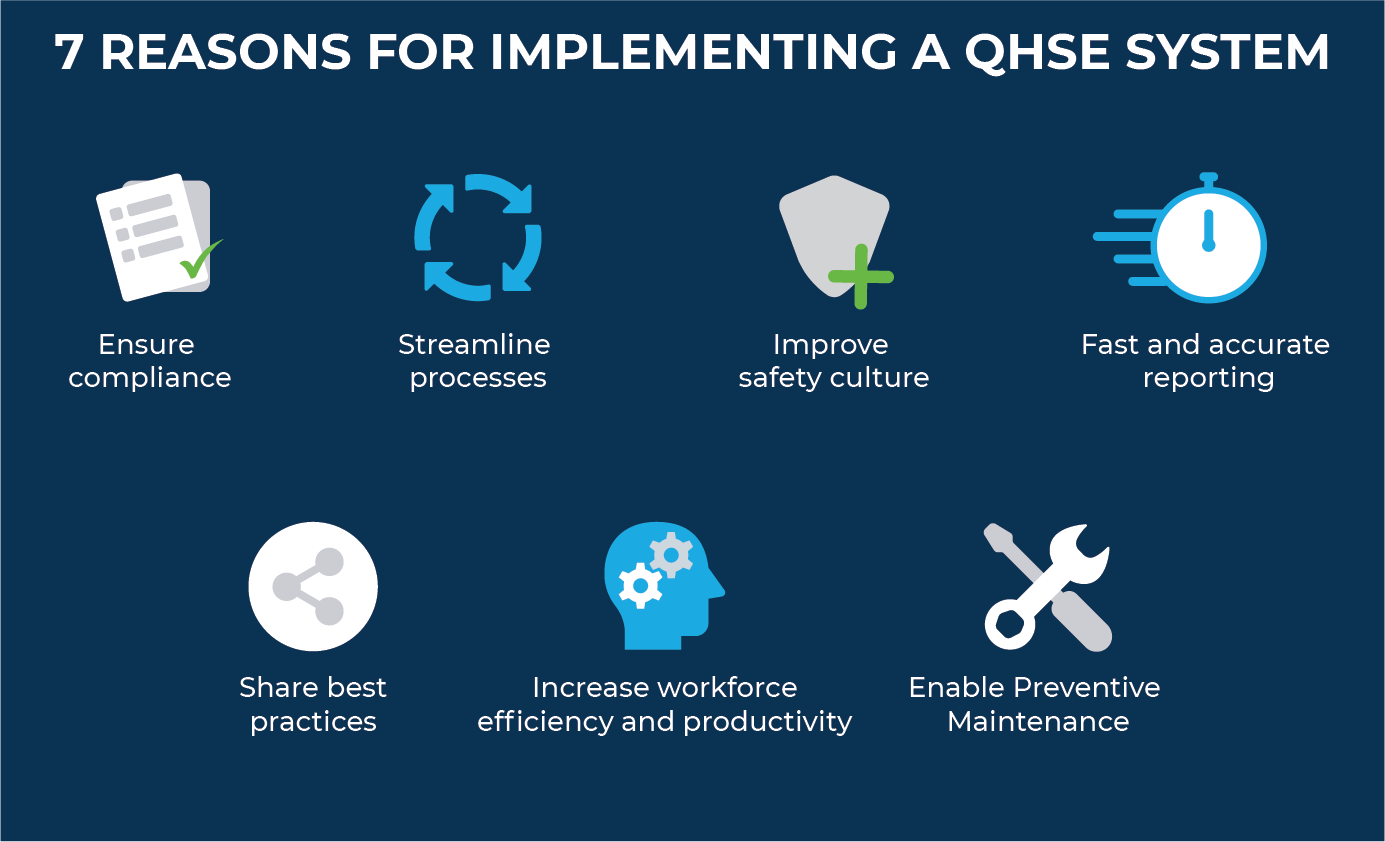 7 reasons for implementing a QHSE system
